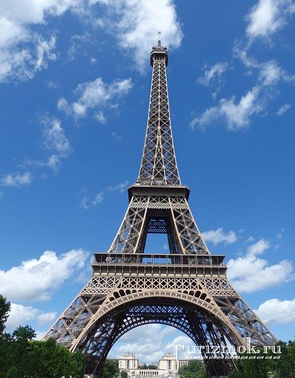 Эйфелева башня фото