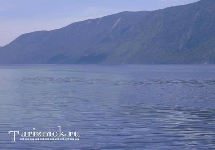 Заповедная зона Телецкого озера