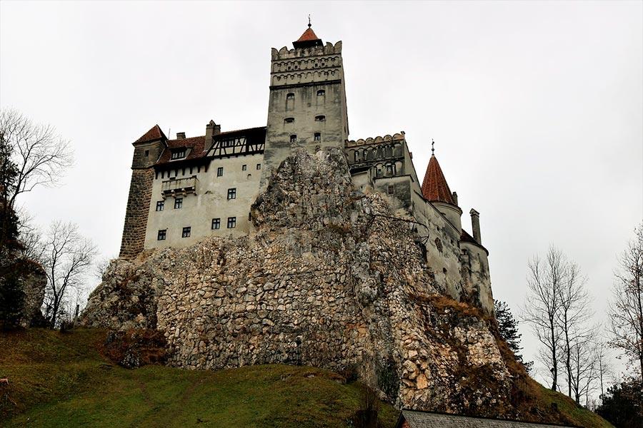 Замок Бран замок Дракулы в Трансильвании