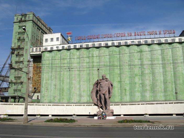 Фотография Волгоградский элеватор
