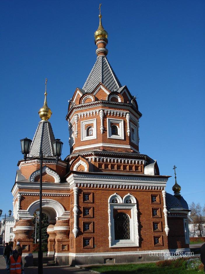 Часовня Александра Невского фото