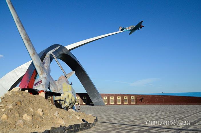 Мемориал Защитникам неба Отечества фото